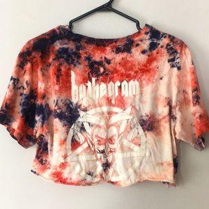 "Huf ""By The Gram"" T-shirt Crop Top"
